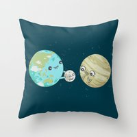 I'd Give You The Moon Throw Pillow