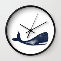 Moby And Friends Wall Clock