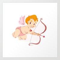Cupid's Arrow  Art Print
