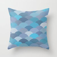 Circles Abstract 6 Throw Pillow