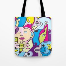 Beach Pop series Tote Bag