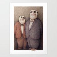The Honourable Gentlemen Art Print