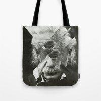Albert E Mix 2 Tote Bag