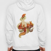 aesop's fable - the fox and his tail Hoody