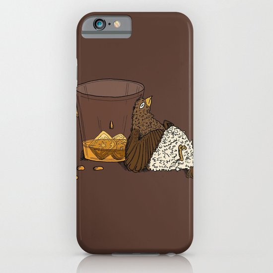 Thirsty Grouse - Colored! iPhone & iPod Case