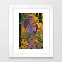 In The Garden You Grew Framed Art Print