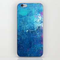 WITH THE TIDES iPhone & iPod Skin