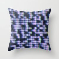 Painted Attenuation 1.1.… Throw Pillow