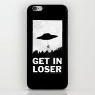 Get In Loser iPhone & iPod Skin