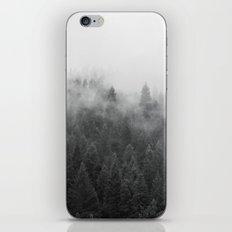Black And White Mist iPhone & iPod Skin