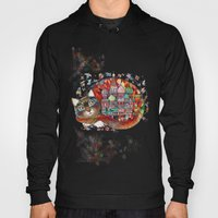 Moscow Cat - St. Basil - Red Square Hoody