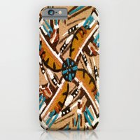 iPhone & iPod Case featuring Indian Windmill design by Amanda Thomas