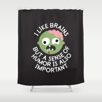 Of Corpse Shower Curtain