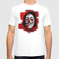 Salvador POSTportrait Mens Fitted Tee White SMALL