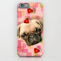 iPhone & iPod Case featuring Puggy by C...