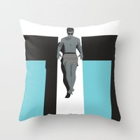 Summertime 1 Throw Pillow