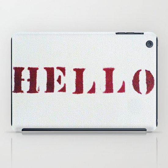 Hello You iPad Case