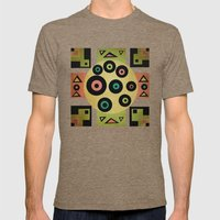 carpet pattern Mens Fitted Tee Tri-Coffee SMALL