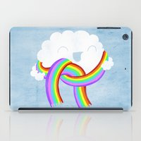 Mr clouds new scarf iPad Case