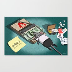 The Rat Trap Canvas Print
