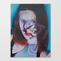 Echeveria Painted Lady Canvas Print