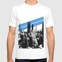 Tripping London. Mens Fitted Tee White SMALL