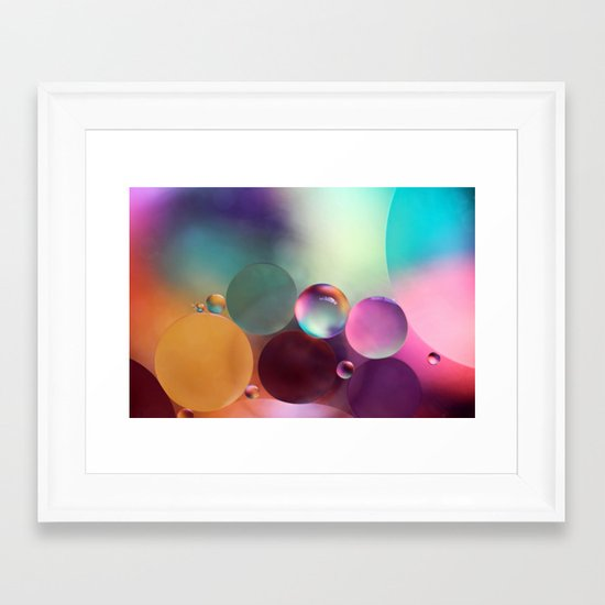 life is sweet Framed Art Print