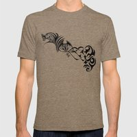 Gargoyles Mens Fitted Tee Tri-Coffee SMALL
