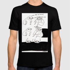 void Mens Fitted Tee Black SMALL
