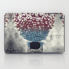 Butterflies In my head. iPad Case