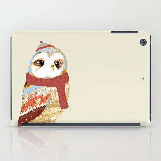 Winter Owl iPad Case
