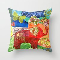 Contemplate with the Heart Throw Pillow