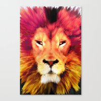 BIG CAT LION Canvas Print