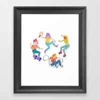 Sports Framed Art Print