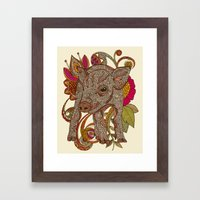 Paisley Piggy Framed Art Print