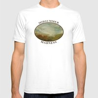 Midsummer Madness Mens Fitted Tee White SMALL