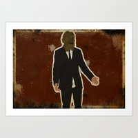 The Dark Knight: Scarecr… Art Print