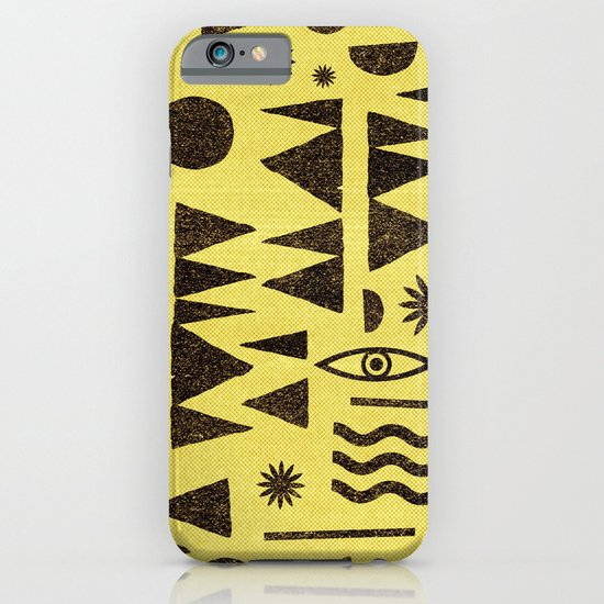 Tangential Paralysis. iPhone & iPod Case