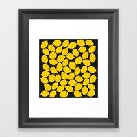 lemons 1 Framed Art Print