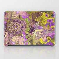 Garden Pansy iPad Case