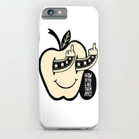 iPhone Cases featuring How Do You Like Them Apples? by Philip Morgan