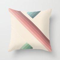Vintage Geometric Throw Pillow