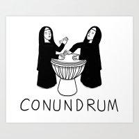 Conundrum Art Print