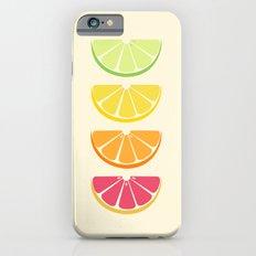Half Citrus Slim Case iPhone 6s
