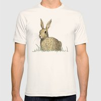 Rabbit Mens Fitted Tee Natural SMALL