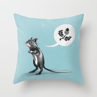 Must have Nuts Throw Pillow