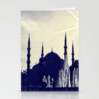 Blue Istanbul Stationery Cards