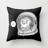 One Small Step, One Gian… Throw Pillow