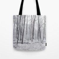 Winter's Woods Tote Bag