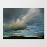 Grace Clouds II Canvas Print